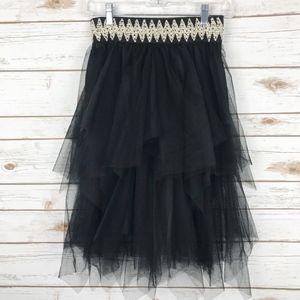 Tulle Ballerina Tiered Skirt